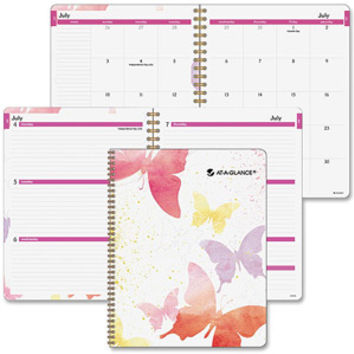 Walmart: At-A-Glance Watercolors Weekly/Monthly Planner