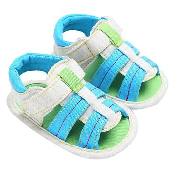 Baby Shoes Baby Boys Canvas Toddler Kids Sandals Infant Soft Soled Sandals
