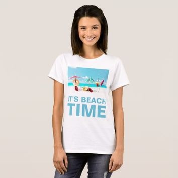 Chili Peppers Beach Time Funny custom T-Shirt