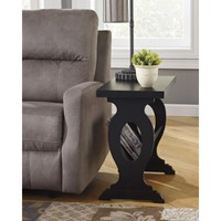 T017-591 Braunsen Chair Side End Table - Black - Free Shipping!