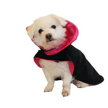 Dog Halloween Costume Dracula Vampire Dog Costume Cape Halloween Costume Dog Clothes Pet Costume