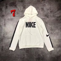 NIKE Woman Men Hooded Fashion Top Sweater Pullover Hoodie