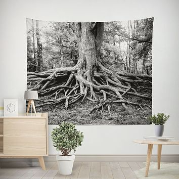 Roots of Life, Tree Wall Tapestry - 4 Sizes