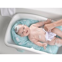 Baby's Journey Comfort Plus Perfect Height Bath Tub in Whale Dot