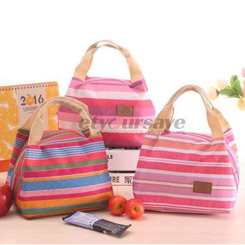 2016 Portable Insulated Thermal Cooler lunch Bag Box Carry Tote Storage Bag Case Picnic
