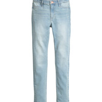 Skinny Fit High Jeans - from H&M