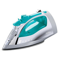 Sunbeam Steam Master Iron with Anti-Drip Non-Stick Stainless Steel Soleplate and 8' Retractable Cord, 1400 Watt