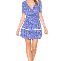 FAITHFULL THE BRAND Liza Dress in Sunny Floral Print