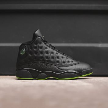 Nike Air Jordan 13 - Black / Green