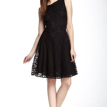 Max Studio | Sleeveless Lace Fit & Flare Dress | Nordstrom Rack