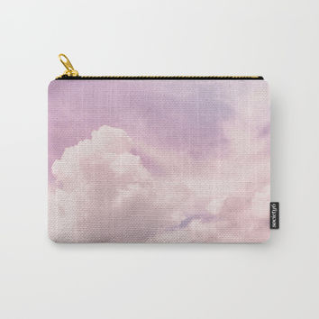 Upon The Clouds Carry-All Pouch by cadinera