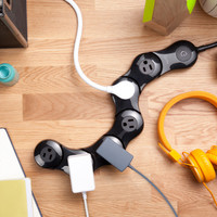 Pivot Power - Flexible surge protector | Quirky