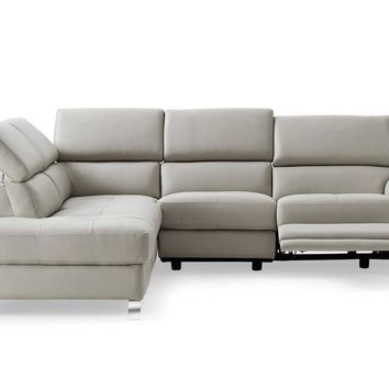 Madison Sectional chaise on left when facing