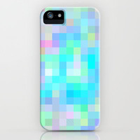Re-Created Colored Squares No. 1 iPhone & iPod Case by Robert Lee