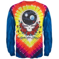 Grateful Dead - Space Your Face Tie Dye Long Sleeve T-Shirt