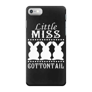 little miss cottontail cute bunny easter iPhone 7 Case