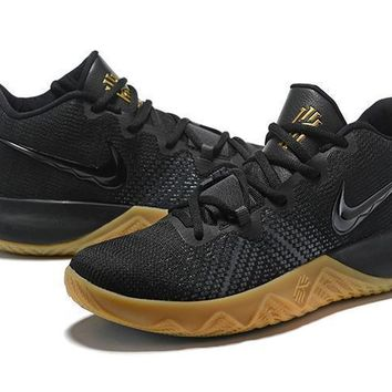 Nike Zoom Assersion Ep Kyrie 3 Black/yellow Basketball Shoe