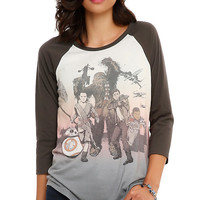 Star Wars: The Force Awakens Tour Girls Raglan