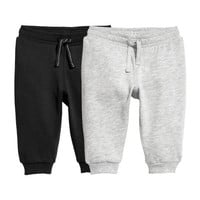 2-pack Cotton Joggers - from H&M