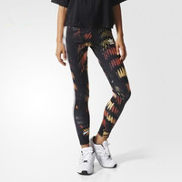 Fashion Adidas Tight stretch Multicolor Print Exercise Fitness Gym Yoga Running Leggings Sweatpants
