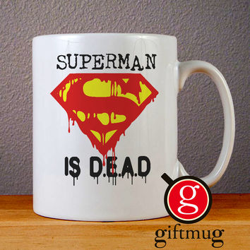 Superman is Dead Logo Ceramic Coffee Mugs
