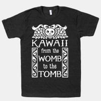 Kawaii From The Womb To The Tomb | Pillows and Pillow Cases | HUMAN