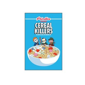 ONETOW Cereal Killers Sticker In Black