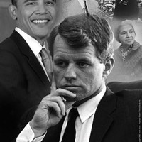 Robert F. Kennedy Prophetic Quote 1968 (Obama) Tonya Jones Art Print