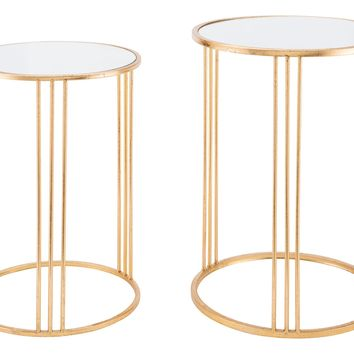 Magri Set 2 Nesting Round Tables