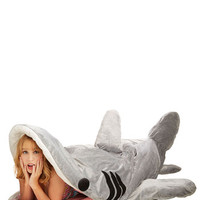 ModCloth Nautical Sea-nic Adventures Sleeping Bag in Great White Shark