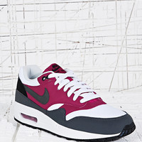 Nike Air Max 1 Essential Trainers in Raspberry - Urban Outfitters