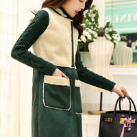 Winter Sheep Skin and Wool Coat YRB0583