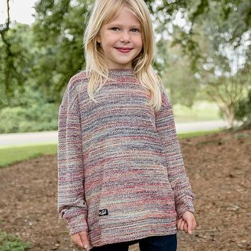 Youth Rainbow Sunday Morning Sweater by Southern Marsh