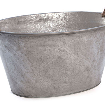 Galvanized Tin Tub, Storage Boxes & Bins