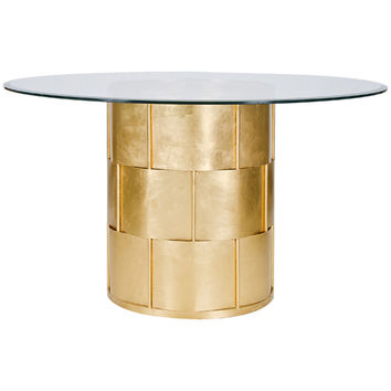 Amanda Gold 54 Inch Round Dining Table