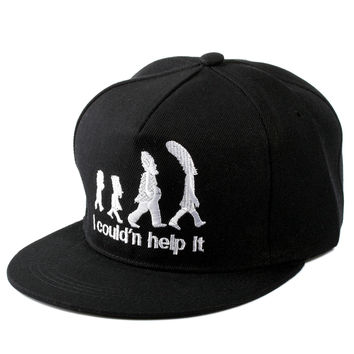 Korean Baseball Cap Ladies Adjustable Cartoons Hip-hop Hats [4917646724]