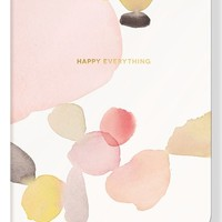 Fringe Studio 'Water Study - Pebble' Softcover Journal - Pink