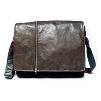 Mens leather satchel, leather man bag,  messenger bag, messenger purse, macbook leather bag, leather purse,  macbook messenger bag