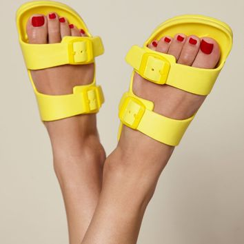 Kirra Double Buckle Slide Sandals at PacSun.com