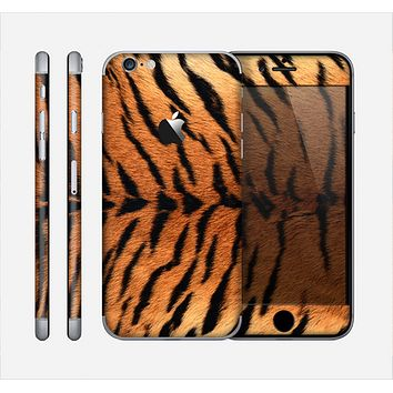 The Real Tiger Print Texture Skin for the Apple iPhone 6