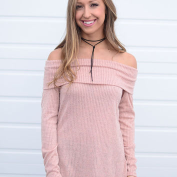 Sound Of Your Heart Top- Peach
