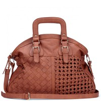Sole Society Florence Oversize Woven Satchel