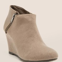 CL by Laundry Valor 50/50 Wedge Bootie
