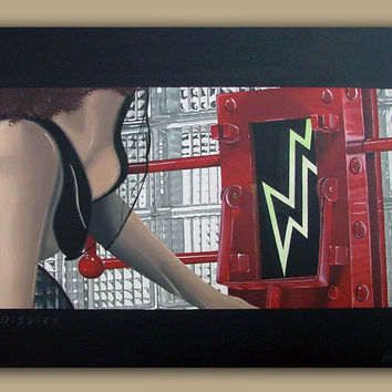 The Rocky Horror Picture Show (Acrylic on canvas) 16in x 20in original painting