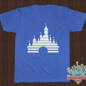 Disney Shirts - Old School Disney Movie - Cinderella's Castle