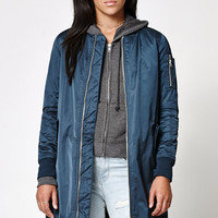 Members Only Elongated MA-1 Bomber Jacket at PacSun.com