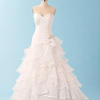 Alfred Angelo Disney 224 Size 16 White