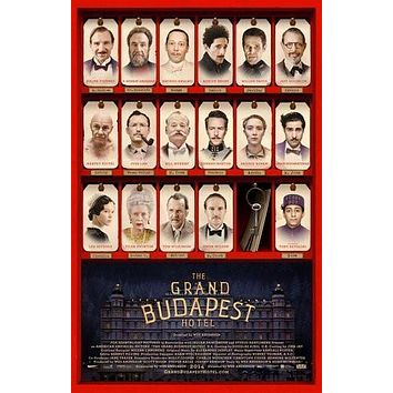 Grand Budapest Hotel Movie Poster 24Inx36In Poster 24x36