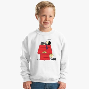 A Three Patch Problem Kids Sweatshirt | Customon.com