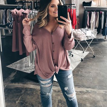 Be Yourself Top - Mauve